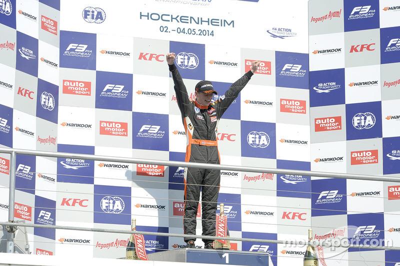 4. Первая победа в Ф3 (май 2014)