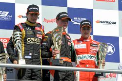 Podium race 3, Esteban Ocon