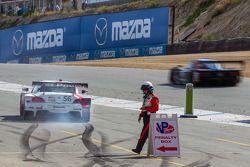 Penalização no fim de prova para o #56 BMW Team RLL BMW Z4 GTE: Dirk Müller, John Edwards