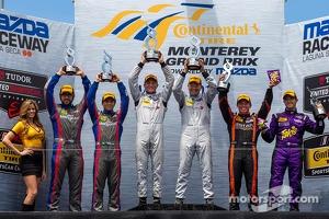 PC class podium: winners Mirco Schultis, Renger van der Zande, second place Luis Diaz, Sean Rayhall, third place Duncan Ende, Bruno Junqueira