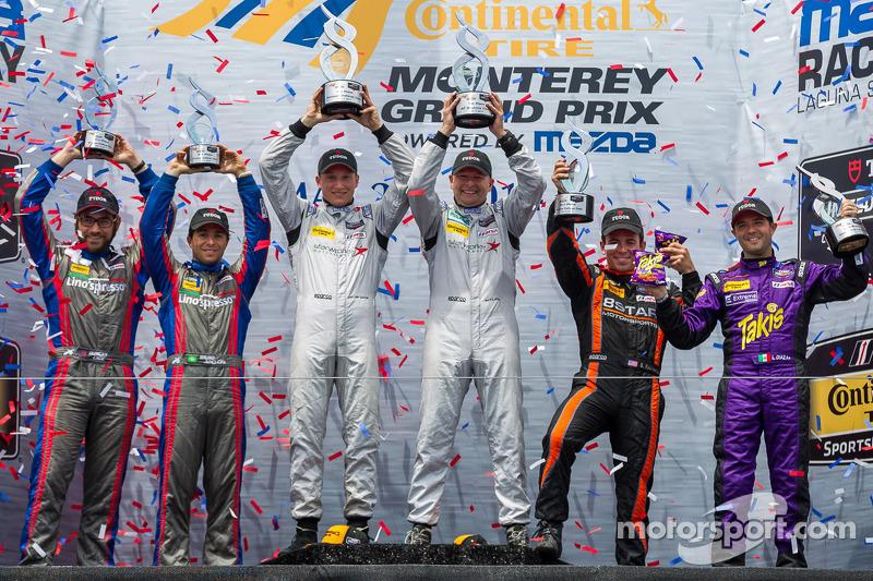 PC class podium: winners Mirco Schultis, Renger van der Zande, second place Luis Diaz, Sean Rayhall,