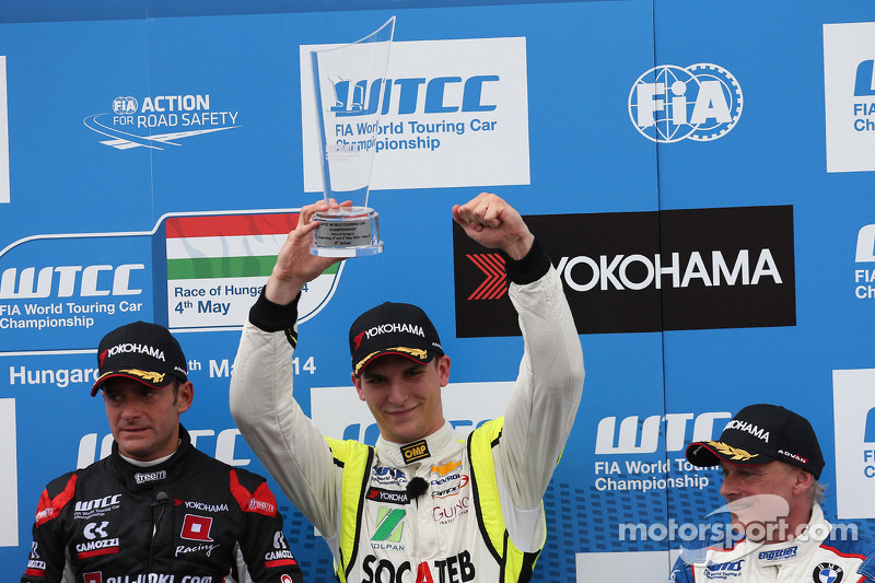 3rd position Hugo Valente, Chevrolet RML Cruze TC1, Campos Racing
