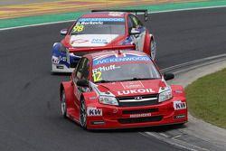 Robert Huff, LADA Granta 1.6T, LADA Sport Lukoil e Dusan Borkovic, Chevrolet RML Cruze TC1, NIS Petr