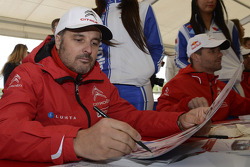 Yvan Muller, Citroen C-Elysee WTCC, Citroen Total WTCC and Sébastien Loeb, Citroen C-Elysee WTCC, Ci