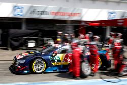 Pitstop, Mattias Ekstroem, Audi Sport Team Abt Sportsline, Audi A5 DTM