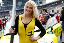 Grid kızı: Mike Rockenfeller, Audi Sport Takımı Phoenix Audi RS 5 DTM