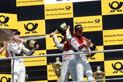 Podium, 1st Marco Wittmann, BMW Team RMG BMW M4 DTM, 2nd Mattias Ekstroem, Audi Sport Team Abt Sport
