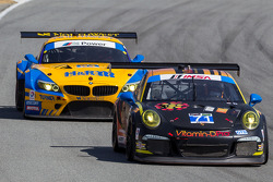 #71 Park Place Motorsports 保时捷 911 GT America: 吉姆·诺曼, 克里格·斯坦顿