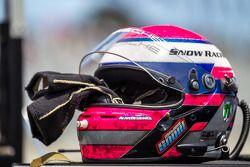 Melanie Snow's helmet