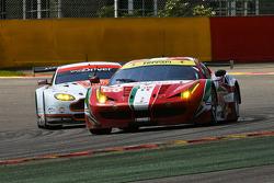 #60 AF Corse Ferrari F458 Italia: Peter Mann, Raffaele Gianmaria, Lorenzo Case