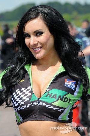 Hôtesse Handy Motorsport