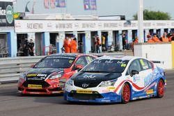 Tom Ingram, Speedworks Motorsport et Dave Newsham, AmD Tuning.com