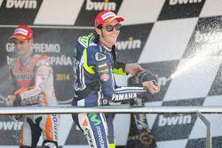 Валентино Росси. ГП Испании, воскресенье, после гонки.