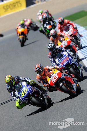 Валентино Росси. ГП Испании, воскресная гонка.
