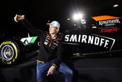 Nico Hulkenberg, Sahara Force India F1 en la fiesta del Sahara Force India F1 Team en un circuito de