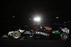 El Sahara Force India F1 VJM07 de gala de Smirnoff se dio a conocer en la Fiesta de lanzamiento de S
