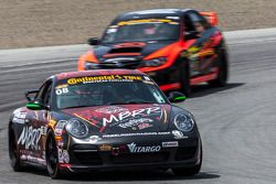 #08 Rebel Rock/MBPR Racing 保时捷 997: 马丁·巴基, 凯利·马尔切利