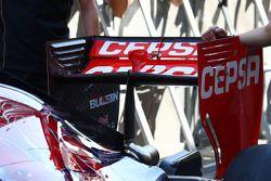 Scuderia Toro Rosso STR9 rear wing