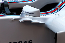 Williams FW36 : rétroviseur
