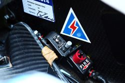 Williams FW36 cockpit detail
