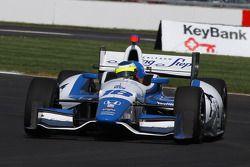 Карлос Уэртас. Гран При Инди, тренировка в четверг.