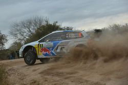 大众车队驾驶大众Polo WRC的安德烈亚斯·米克尔森和米科·马库拉