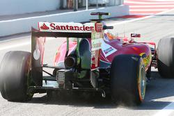 Fernando Alonso, Ferrari F14-T alerón trasero