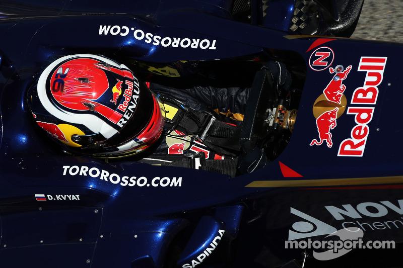 Свой первый сезон в Формуле 1 Квят провел в Scuderia Toro Rosso