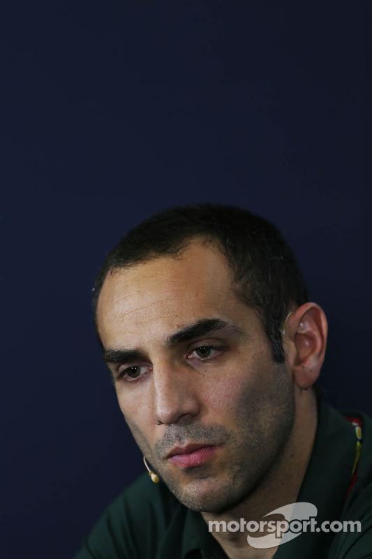 Cyril Abiteboul, Caterham F1 Takım Patronu FIA Basın Konferansı'nda