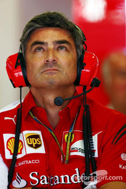 Marco Mattiacci, director del equipo Ferrari