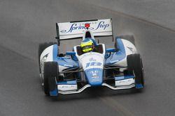 Карлос Уэртас. Гран При Инди, пятничная тренировка.