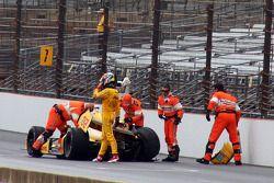 Problema para Ryan Hunter-Reay, Andretti Autosport Honda