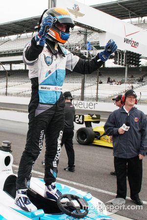 Il vincitore della gara: Matthew Brabham