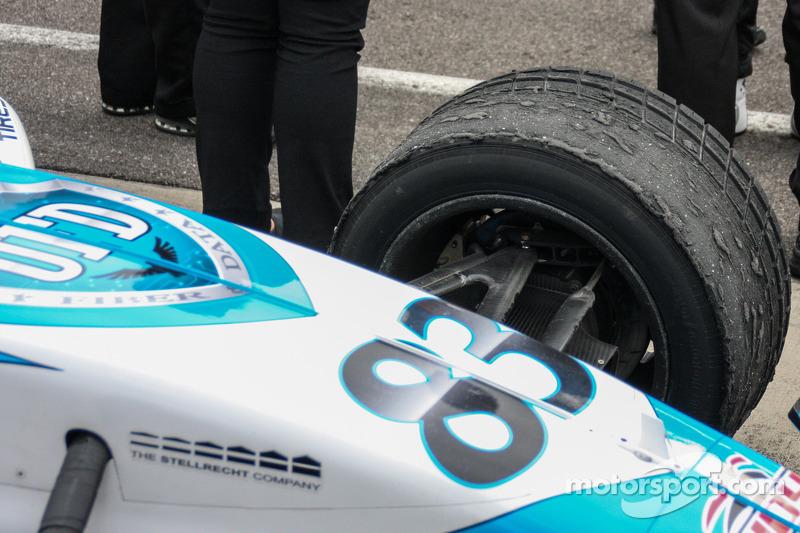 Ganador de la Carrera Mateo Brabham ganó con neumáticos de lluvia