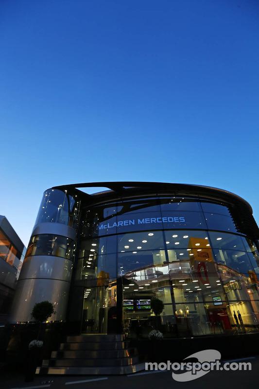 Motorhome da McLaren