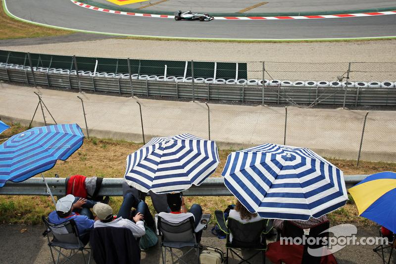 Hamilton consiguió la 35ª en España 2014
