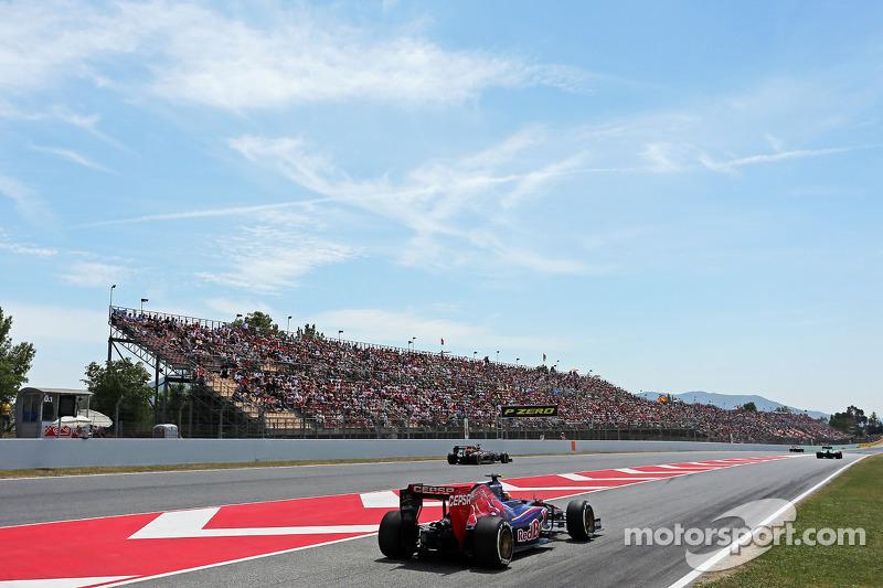 Даниил Квят, Гран При Испании-2014. Квалификация