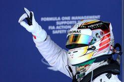 Pole position Lewis Hamilton, Mercedes AMG F1 Team
