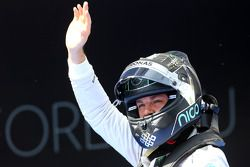 Second place qualifying for Nico Rosberg, Mercedes AMG F1 Team