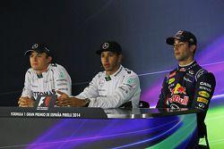 Conférence de presse : Nico Rosberg, Lewis Hamilton et Daniel Ricciardo