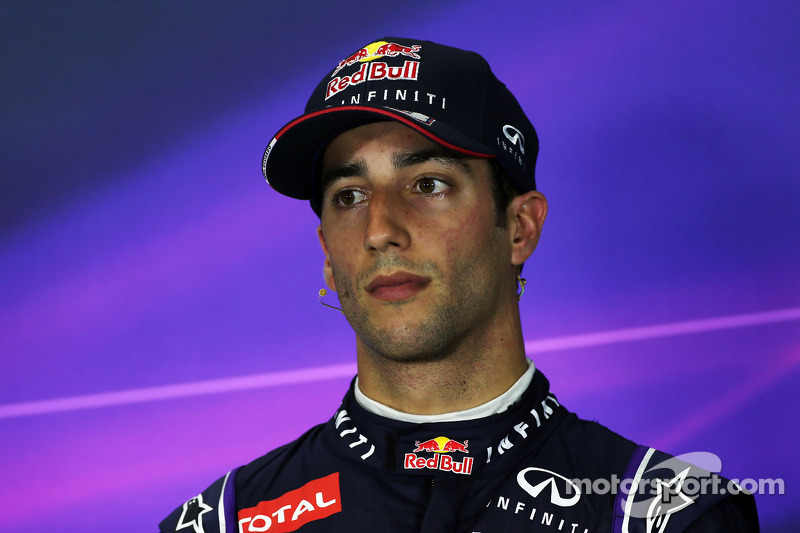 Daniel Ricciardo, Red Bull Racing na coletiva