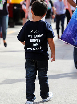 Felipinho Massa, hijo de Felipe Massa, Williams