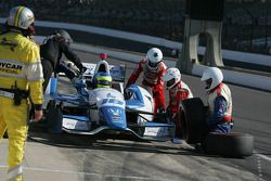Карлос Уэртас. Гран При Инди, субботняя гонка.