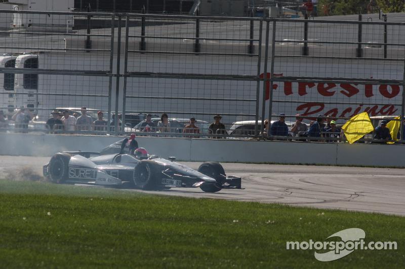 Franck Montagny, Andretti Autosport Honda in difficoltà