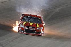 Jamie McMurray, Ganassi Racing Chevrolet en difficulté