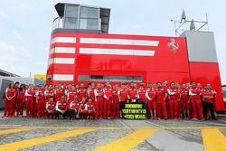 The Ferrari team remember the 1996 Spanish GP at Barcelona, where Michael Schumacher, won his first