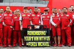 (I a D): Kimi Raikkonen, Ferrari, Marco Mattiacci, Ferrari, Fernando Alonso, Ferrari recuerdan el GP