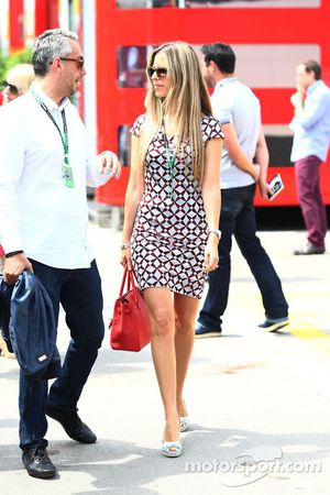 Vivian Sibold, girlfriend of Nico Rosberg, Mercedes AMG F1