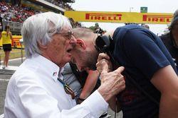 Bernie Ecclestone; Gerard Lopez, Lotus F1, Teamchef