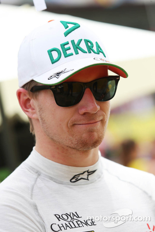 Nico Hulkenberg, Sahara Force India F1, no grid